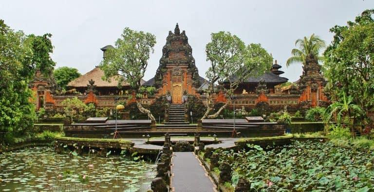 ubud, indonesia, temple